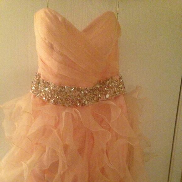 Blush Maggie Sottero Prom Dress